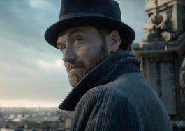 """Jude Law explica por que Dumbledore não será """"explicitamente gay"""" em sequência de """"Animais Fantásticos"""""""