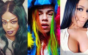 """Azealia Banks sobre a parceria de Nicki Minaj e 6ix9ine: """"Deletando minha carteirinha de Barb"""""""