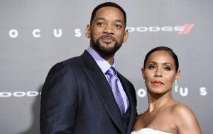 Will Smith e a esposa, Jada Pinkett Smith, não se tratam mais como marido e mulher