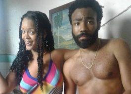 Rihanna e Donald Glover estão gravando filme em Havana!