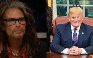 Steven Tyler não quer que Donald Trump use as músicas do Aerosmith!