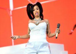 Cardi B já tem data para voltar aos palcos e será na abertura do VMA!