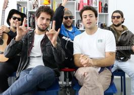 LAGUM visita a redação para um acústico e contar tudo sobre a banda; conheça!