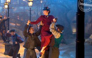 Vem ver nova foto exclusiva da Emily Blunt como Mary Poppins!