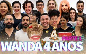 Comemorando 4 anos de Wanda com uma reunião de #ElencoFixo – PARTE 1
