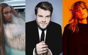 Beyoncé e Taylor Swift são participações dos sonhos de James Corden no Carpool Karaoke