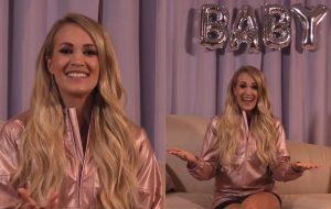 Novidade dupla! Carrie Underwood está grávida e sai em turnê em 2019 <3