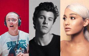 Ariana Grande, Shawn Mendes e Logic confirmados como atrações do VMA 2018!