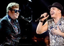 Fizeram uma montagem do Elton John dublando Wesley Safadão e estamos morrendo!