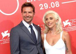 Lady Gaga e Bradley Cooper estão maravilhosos na premiere de Nasce Uma Estrela!