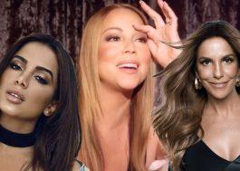 Somos todos Anitta e Ivete comentando no Insta da Mariah Carey