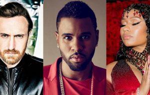 David Guetta, Jason Derulo e Nicki Minaj tão voltando com feat nesta sexta-feira!