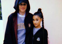 Pete Davidson diz que relacionamento com Ariana Grande tem divisão de obrigações