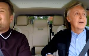Carpool Karaoke com Paul McCartney ganhará versão estendida de uma hora!