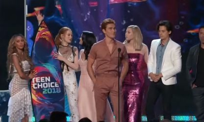 Vencedores do Teen Choice