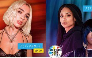 Dua Lipa, Ciara e Missy Elliott vão se apresentar no AMA deste ano!