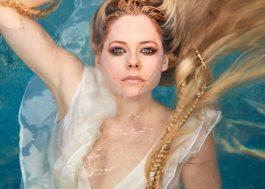 A divulgação tá fortíssima e a capa do novo single da Avril Lavigne já está entre nós