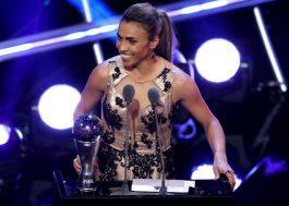 Girl Power! Pela SEXTA vez, Marta é eleita a melhor jogadora do mundo <3