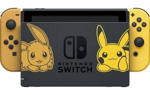 High-five, carinhos, surfe e uma EDIÇÃO ESPECIAL do Nintendo Switch: as novidades de Pokémon Let's Go!