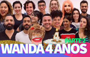 Parte 2 do #Wanda4anos no ar com Samira Close, Manu Barem e mais surra de #ElencoFixo!