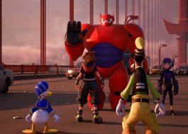 Operação Big Hero, Rapunzel e Monstros S/A no novo trailer de Kingdom Hearts III!