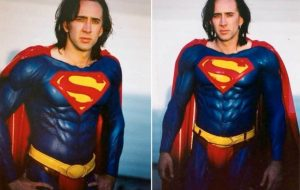 Tem várias pessoas pedindo para que Nicolas Cage seja o próximo Superman!
