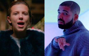 Millie Bobby Brown diz que Drake é seu amigo e conselheiro amoroso
