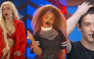 Janet Jackson, Cardi B, Janelle Monáe, Shawn Mendes e mais cantam ao vivo no Global Citizen!