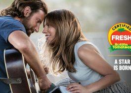 Nasce Uma Estrela tem 95% de aprovação no Rotten Tomatoes