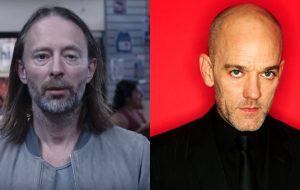 Thom Yorke e os caras do R.E.M. estão juntos em nova versão do clássico E-Bow The Letter; vem ouvir!