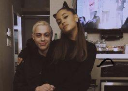 Ariana Grande e Pete Davidson terminam noivado, segundo TMZ