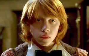Rupert Grint quase se demitiu após gravar Harry Potter e o Cálice de Fogo