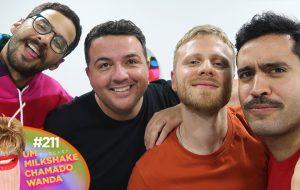 Enaltecendo Pabllo Vittar com Davi e Victor Miranda na nova edição POC do Wanda