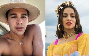 Eita! Austin Mahone e Anitta podem fazer música juntos