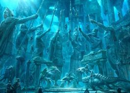 Willem Dafoe aparece montado em tubarão em nova foto de Aquaman; espia só!