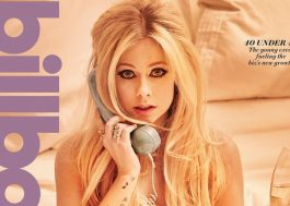 Avril Lavigne está maravilhosa ~e parece ainda mais jovem~ em ensaio para a Billboard