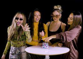 Amando o Little Mix imitando Shakira e cantando X-Tina nessa entrevista gringa!