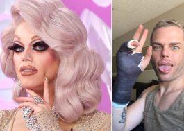 """Drag de RuPaul's Drag Race dá soco em nazista após ameaça: """"Essa bicha não será uma vítima"""""""