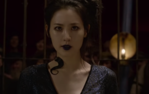 Claudia Kim, atriz que interpreta a Nagini, comenta sobre a polêmica racista que envolveu a personagem