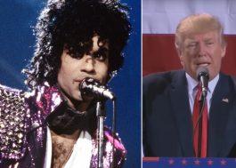 """Família de Prince manda Trump parar de tocar músicas do artista: """"Nunca demos autorização"""""""
