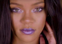 Rihanna passa highlighter até na orelha em novo tutorial de maquiagem!