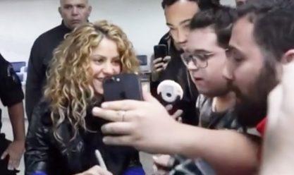 Shakira está entre nós!