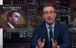 "John Oliver fala do ""Trump brasileiro"", Jair Bolsonaro, em seu programa na HBO"