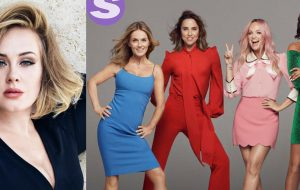 Adele é gente como a gente e surta ao saber da nova turnê das Spice Girls!