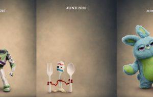 Além dos teasers, Disney divulga pôsteres de Toy Story 4; vem ver!