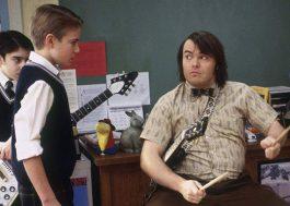 Jack Black e Kevin Clark, o baterista de Escola de Rock, se encontram quinze anos depois; vem ver!