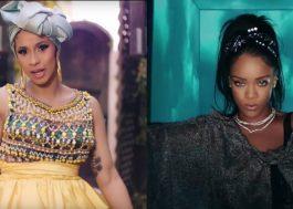 Cardi B diz que Kulture, sua filha, se parece muito com a Rihanna