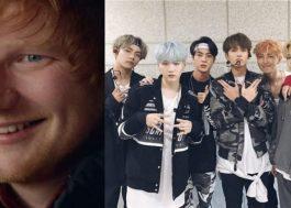 Ed Sheeran conta que BTS pode estar gravando uma música composta por ele