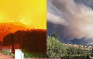 Incêndio na Califórnia faz estrelas como Gaga, Kim Kardashian e Guillermo del Toro saírem de suas casas!