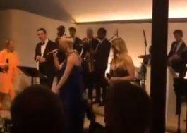 Sia, Katy Perry e Ellie Goulding vão a festa de casamento e dão show para os convidados; vem ver!